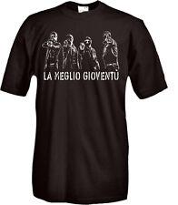 T-Shirt manica corta Vintage Roma criminale Z03 Anni 70 la meglio gioventù