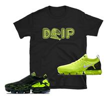 """Nike Airmax Plus Vapormax Flyknit 2 Air Max Acronym Volt Neon Green """"DRIP"""" SHIRT"""