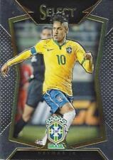 2015 Panini Select Soccer Base Common Brasil Brazil - (#21 - #24)