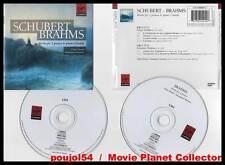 "SCHUBERT - BRAHMS ""Works For 2 Pianos"" (2 CD) Désert,Strosser 2003"