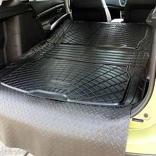 Boot liner dog load mat bumper protector 3pc rubber Suzuki SX4 S-Cross 2013+