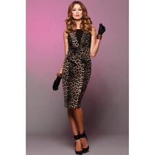 PINK RUBY - Feline Peplum Dress size 8 *Clearance* BNWT