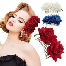 Hairpin Wedding Accessories Bridal Flower Hair Comb Bridesmaid Hair Jewelry