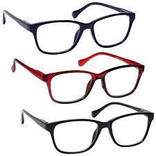UV Reader Lightweight Reading Glasses Designer Style Mens Womens