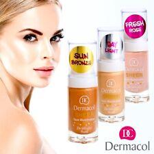 Dermacol Sheer Face & Body Illuminator Highlighter Bronzer Blusher Fresh Skin UK