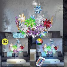 LED RVB Lampe suspendue Chambre à coucher fleurs SPOT LUMINAIRE PLAFOND