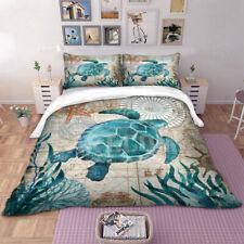 Cartoon Animals Quilt Duvet Cover Pillowcase Twin Full Queen King Bedding Set