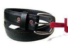 Levi's Mens Black Leather Belt Size 36 38 40 Retail $39.5~NWT