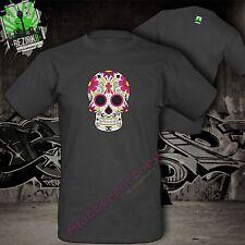 T-shirt la Catrina mexicano azúcar cráneo Skull tatuaje calavera motivo 7