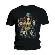 Official Unisex Men's Guns n Roses Music Band LOGO vintage heads T Shirt