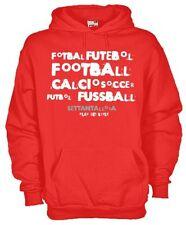 Felpa con cappuccio Sport hoodie KF01 Fotbal Futebol Football Calcio Soccer