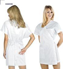 Camice Lavoro Kimono Estetica Estetista Bianco Divisa Estetiste Bianco XL Unica