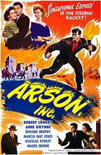 Arson, Inc. - 1949 - Movie Poster