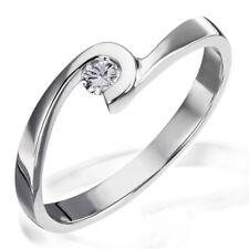Goldmaid Ring Verlobungsring Diamond 925 Sterlingsilber 1 Brillant SI/H 0,10 ct.