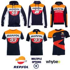 2018 Repsol Honda Mens Fanwear MotoGP Marc Marquez #93 Dani Pedrosa #26 Clothing