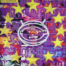 U2 1993 ZOOROPA ALBUM COVER PROMO POSTER ORIGINAL