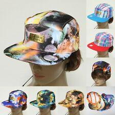 Fashion Summer 100% Cotton Galaxy Designer Multi Color Snapback Baseball Cap Hat