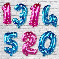 0-9 Zahlenballon Luftballons Folienballon Geburtstag Hochzeit Party Home Dekor *