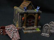Mausoleum/Crypt Gelände Stück (Friedhof Landschaft, Dungeons und Dragons)