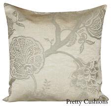 Sanderson Odille Palampore Silver Cushion Cover