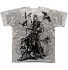 Gothic Odin Metal Wikinger Viking Walhalla Hugin Munin T - Shirt Hemd M L XL XXL