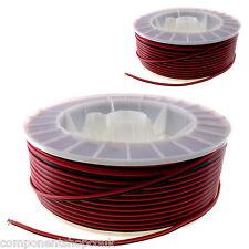PVC 2 formas Alta Resistencia Cable 16 & 18 AWG Plano Negro Y Rojo - vendedor RU