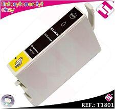TINTA NEGRA T1801 T18XL COMPATIBLE PARA IMPRESORAS NONOEM EPSON CARTUCHO NEGRO