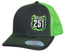 Custom Mx Nummernschild Hut nur Reite Snapback Netz Kappe Moto Motocross KX