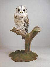 Barred Owl Original Wood Carving