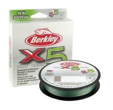 Berkley X5 Braid / Optimal Strength Fishing Braided Mainline