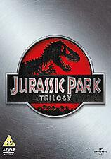 JURASSIC / JURRASSIC PARK - THE COMPLETE FILM MOVIE TRILOGY 1-3 1 2 3 DVD NEW