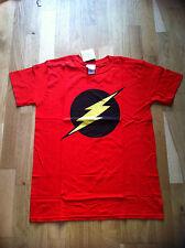 DC Originals Logo Flash T-Shirt Taglia Media Ufficiale DC Comics UK Venditore