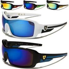 Khan Gafas De Sol Diseñador Deportes Negra Grande abrigo para hombre señoras Uv400 Moda k5525