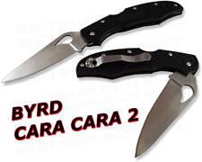 Spyderco Byrd Cara Cara 2 FRN Plain Edge Knife BY03PBK2