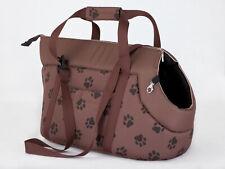 TRENDY POCHE Sac de transport chien ,sac de transport BROWN PATTE Tailles Choix