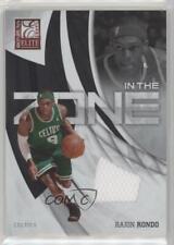 2009-10 Donruss Elite In the Zone Jersey #12 Rajon Rondo Boston Celtics Card