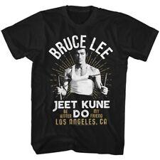 Bruce Lee Jeet Kune Do Los Angeles CA Adult T Shirt Martial Arts