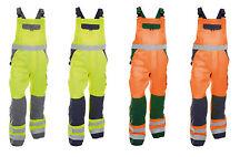 DASSY Toulouse  Warnschutz Latzhose mit Kniepolstertaschen Arbeitshosen