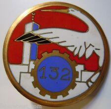 132° Escadron du Train au MAROC insigne Drago O.M. 1947 original 42 mm