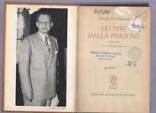 lettere dalla prigione - alcide de gasperi -