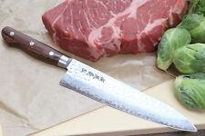 """YOSHIHIRO VG10 Hammered Damascus Gyuto Japanese Handmade Chef Knife 7"""" (180mm)"""