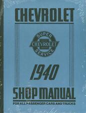 1940 CHEVROLET PASSENGER CAR/TRUCK SHOP MANUAL