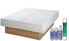 Wasserbett Komplett Softside DUAL 220 x 220 cm Heizung Frei wählbar Wasser Bett