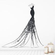 Princess Ball Gown Jurk Muursticker WS-41227