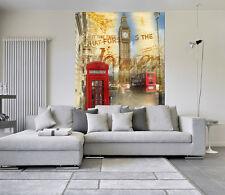 3D Red phone 1A WallPaper Murals Wall Print Decal Wall Deco AJ WALLPAPER