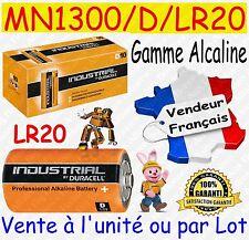 Piles D LR20 MN1300 DURACELL - Dispo aussi : CR2032 CR2025 CR2016 CR2430 CR2450