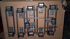 Exhaust Hanger 3/8 J hook  12  PACK Universal w/ Rubber Grommet