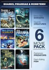 Sharks, Piranhas  Monsters (DVD, 2011, 2-Disc Set)