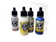 Colori per aerografia/modellismo Vallejo MODEL AIR dal 71062 al 71119 (ins. 2/3)