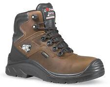 U-Power Climb GTX Brown Lace Up Safety / Work Gore-Tex Toecap Boots